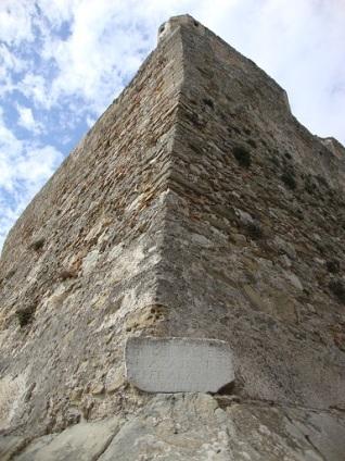 Torre de los Maderos y placa