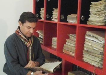 Carlos Núñez León en el archivo familiar